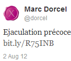 Merci Marc Dorcel ;)